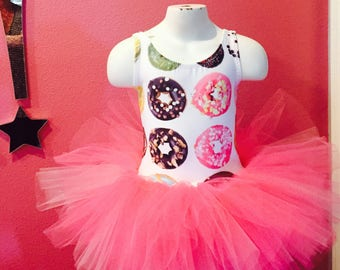 Donut leotard tutu dress dance dress 2t Doughnut