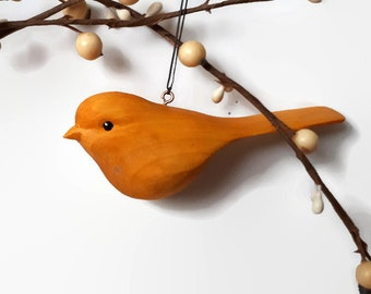 Mothers Day gift for mom Easter gift for mum grandmother bird lover gift hostess gift yellow bird nature lover gift for her