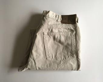 Vintage Men's 90's CK Jeans, Straight Leg, Denim (W34 x L30)