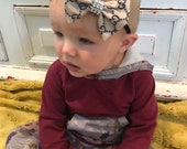 GG inspired Bling hairbow and headband