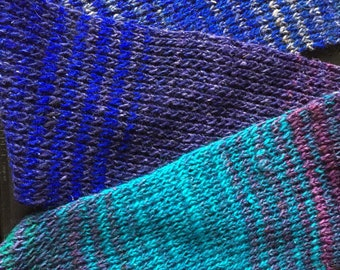 Cool Color Gradient Scarf