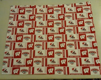 University of Wisconsin Badgers Fabric 249390