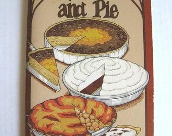 Vintage Quiche and Pie Softcover Cookbook - Potpourri Press - Irena Chalmers - 1974