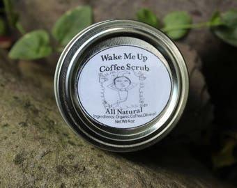 Wake me up Natural Coffee Scrub