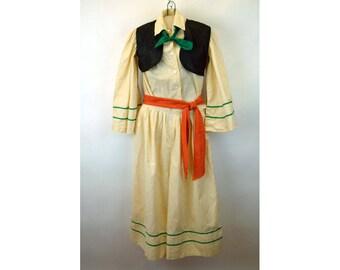 1950s Tween Teen Halloween costume Sultan Aladdin Arabian Handmade