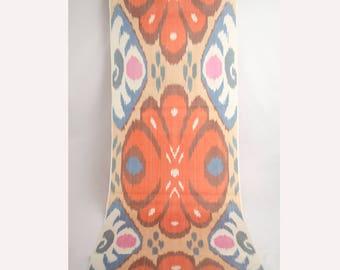 ikat fabric, ikat fabric by the yards, bohemian fabric, Uzbekistan ikat fabric