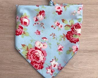 Cath Kidston Dog Bandana / bandana / dog bandanas / blue floral / floral / blue