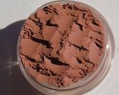 Dark Brown Red Dirt Brown Eyeshadow | Matte Dirt Brown | Loose Pigments | Vegan Mineral Makeup Eye Shadow - Mars at Night