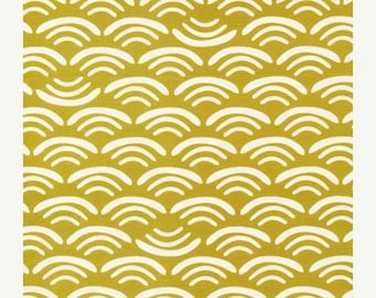 last call Organic fabric by Cloud9, Koi Canvas by Rashida Coleman- Hale, Smile and Wave Reed  - 1/2 Yard