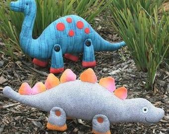 Rumble & Clomp Dinosaurs Pattern