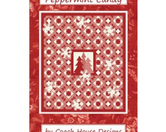 Peppermint Candy Quilt Pattern by Coach House Designs