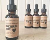 Lumbersexual Beard Oil - Natural Beard Oil with Organic Argan & Jojoba Oil, Beard Moisturizer, Beard Conditioner, Beard Care, Beard Grooming