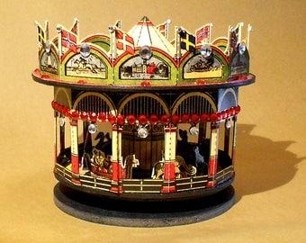 Papercraft Carousel