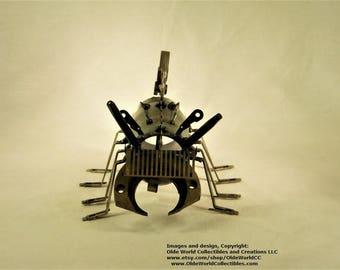 Welded Steel Industrial Steam Sculpture ~ Steam Beetle