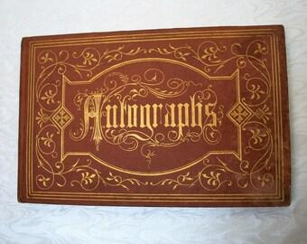 1914  Autograph Book ~ Vintage and UNUSED