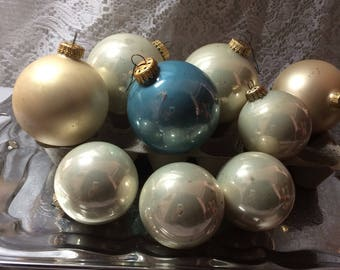 10 Made in West Germany Ornaments