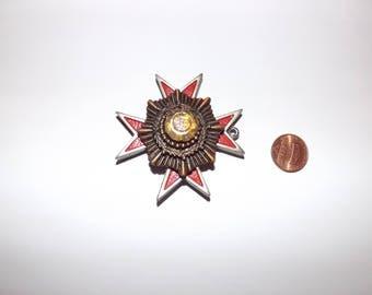 Vintage repurposed medal