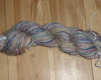 Handspun - Silk/Merino/Flax - approx. 300m