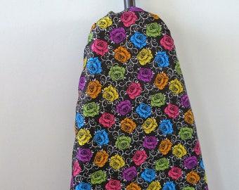 Ironing Board Cover - Australian wattle wildflower orange