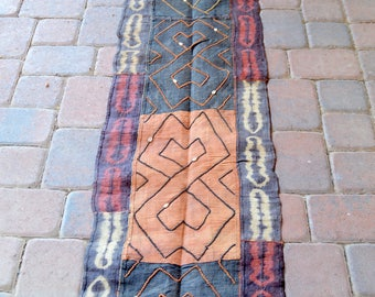"Kuba Cloth 20"" x 9 1/2 Feet"