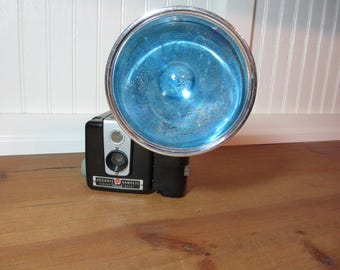 Vintage Brownie Hawkeye Camera with Flash, Photography, Prop, Office, Collectible, Home Decor