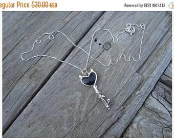 ON SALE Little devil necklace in sterling silver