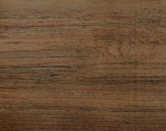 Faux Bois Cherry Wood Oilcloth Yardage