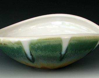 STONEWARE BOWL #8 - Ceramic Bowl - Pottery Bowl - Handmade Bowl - Ceramic Serving Bowl - Mixing Bowl - Batter Bowl - Studio Pottery