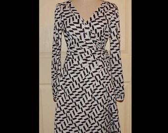 ON SALE DIANE Von Furstenberg Designer Inspired Wrap Dress