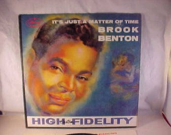 Brook Benton - 33 LP - It's Just A Matter Of Time