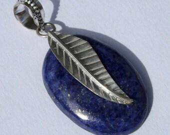 Gem Stone Sterling Silver Pendant