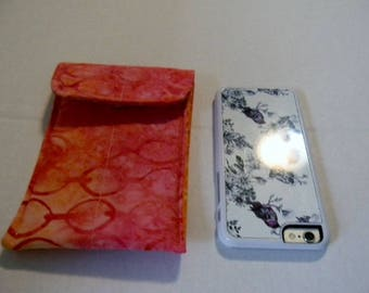 Pink Batik Cell Phone/iPhone Case