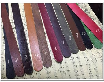 pair of high quality cow leather handbag handle purse handles purse straps 12 colors Handbag Purse Bag Making Hardware Supplies