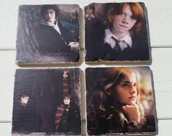 Harry Potter Coaster Set of 4 Tea Coffee Beer Coasters