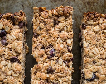 Healthy Gluten Free Granola Bars
