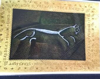 Uffington Horse Greetings card