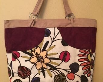 Phoebe#1710, Extra Large Project Bag, Large Purse, Large Knitting Bag, Knitting Bag, Large Handbag, Handbag, Project Tote, Shoulder Bags,