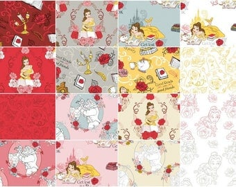 Disney - Beauty and the Beast Fat Quarter Bundle