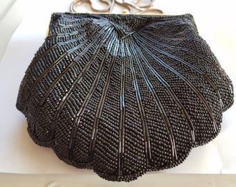 Vintage Ornate Beaded Bag
