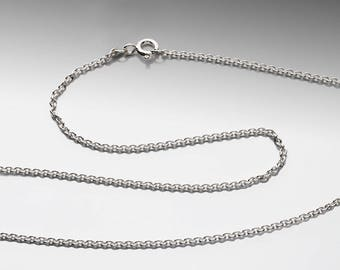 1.7mm Cable Chain - Argentium Silver
