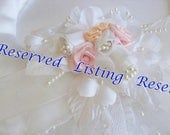 Reserved Listing for maria r.