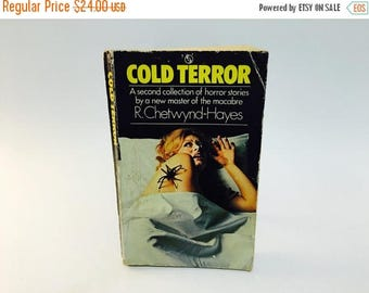 SUMMER BLOWOUT Vintage Horror Book Cold Terror by R. Chetwynd-Hayes 1973 Uk Edition Paperback Anthology