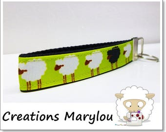 Sheep Key fob