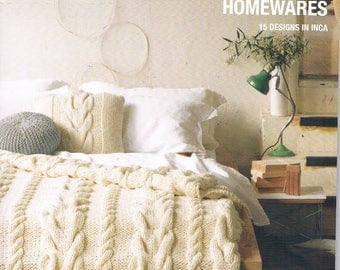 Family & Homewares  - 15 Knitting Patterns - Patterns by Patons Book 1309