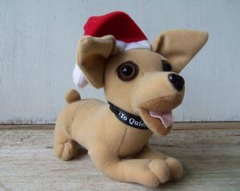 Taco Bell Talking Chihuahua Christmas Felix Navidad