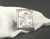 Antique Silver-plated Nap...