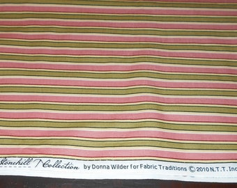 Fabric - Cottage Rose Fabric - Sewing - Supplies - Quilting