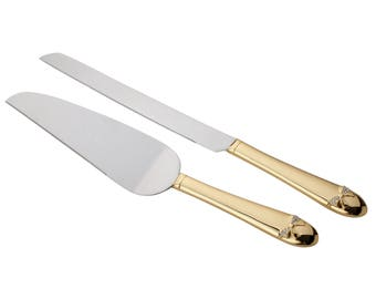 Unik Occasions Cake Knife and Server Set