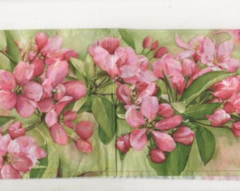 3308 lot 2 Apple blossoms paper napkins