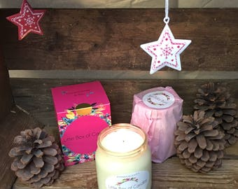 Little Box of Candles - Frankincense and Brrr